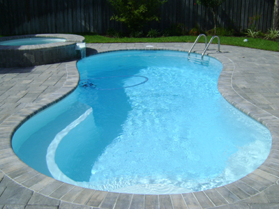 Sea Cove fiberglass pool