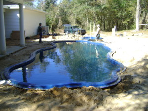 Day 3 pool is totally backfilled and leveled